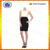 Custom 100% Polyester Contrast Color Dresses/Middle Aged Women Fashion Dress