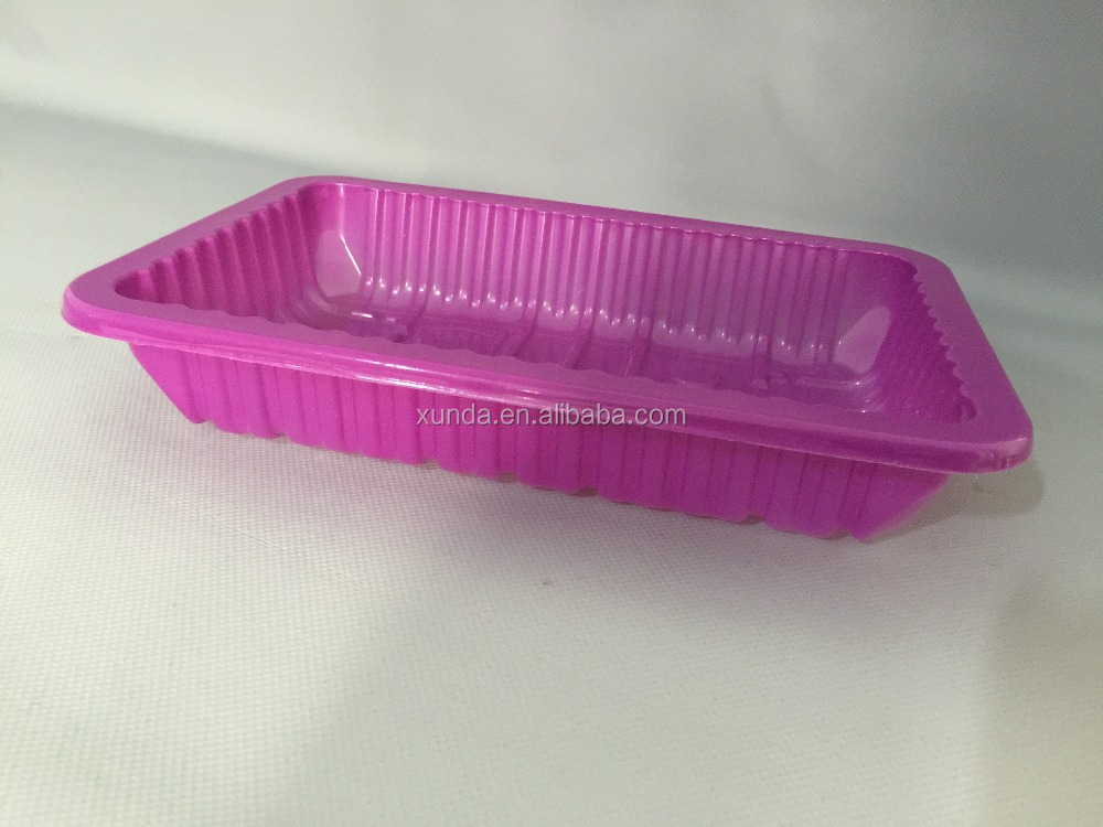 Clear Plastic Fruit and Vegetable Packaging Tray