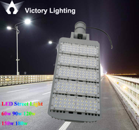 New arrival integrated road lamp IP65 120W 150W led street light photocell COB all in one street light