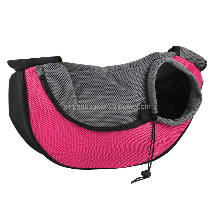 new design small animals application cheap polyester pet dog carrier bag