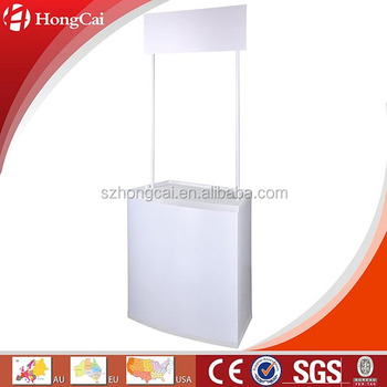PVC promotion counter booth