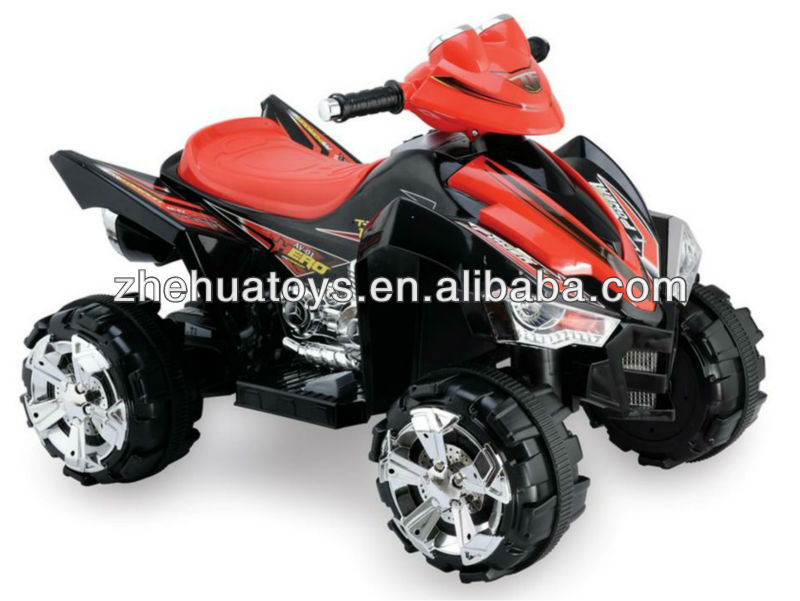 12V Kids Electric Powered Rider Battery-Powered Raptor 4-Wheeler