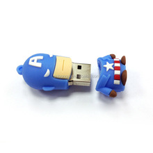 The superman series captain America usb memory stick