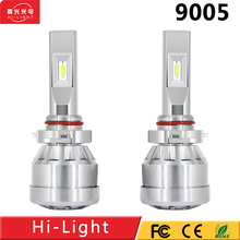 auto parts, Super white LED headlight H4 H7 H8 H9 H1 H11 9005 9006 40w 12V 24V 9600LM car led headlight