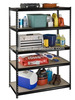 900*450*1800 5-Shelf MDF Shelving Unit Blue