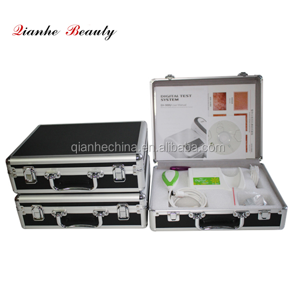 3D face skin analysis machine with dual image compare function