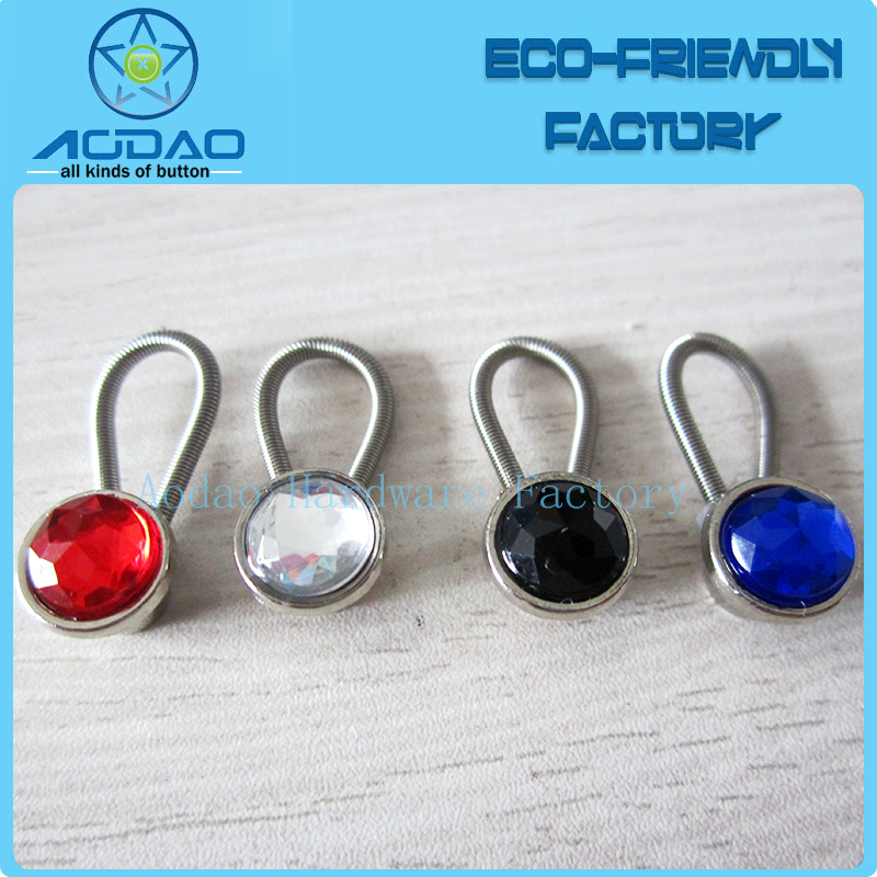 jwelry colorful metal collar extenders for clothes