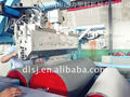 Full automatic PE extrusion line for making gloves