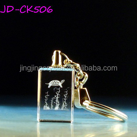 New Arrived K9 Crystal high Quality Laser Cut Key Chain