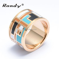 Wonderful 13MM Promotive Presents China Wholesale Stainless Steel Jewelry Rings