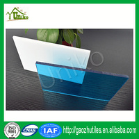 lexan uv protected matte anti-drop fire proof anti-fog ge lexan polycarbonate panels