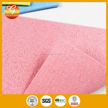 dish washing cellulose sponge cloth