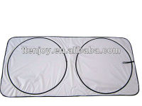 Blank Nylon Cover Front Windshield For Advertising