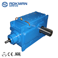 4 Stage B4 Series 80~400 Ratio Right Angle Gearbox Reducer