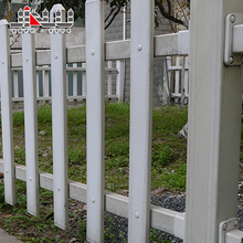 Factory price white blue faux ornaments wrought iron pvc coated fences