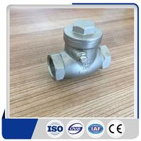 2017 good quality stainless steel dn300 pn16 swing check valve supplier