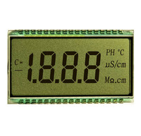 custom TN type LCD segment display