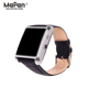 2016 Mapan MW01Smart Watch Anti allergy leather BT 4.0 Android Mobile Watch Phones Man