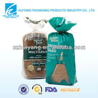 FDA bread packaging stand up plastic food bag retail packaging