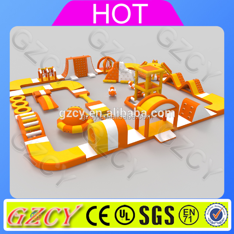 Giant inflatable water park supplies,inflatable floating water park equipment for sale