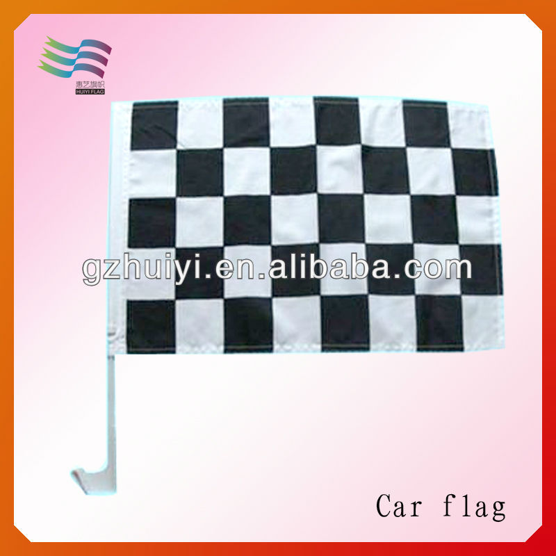 Custom Plastic Promotional Car Window Flag Poles