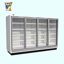 China Little Duck supermarket display Refrigerator For Groceries E7 ATLANTA/MIAMI with CE certification