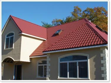 Roma estilo sint tico resina tipo de l minas para techos for Tipos de laminas para techos de casas