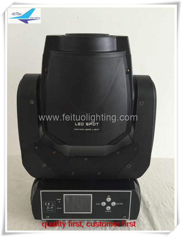 90W Led Moving Light New Design Gobo LED Moving Head Light 3 Prism With LCD Display