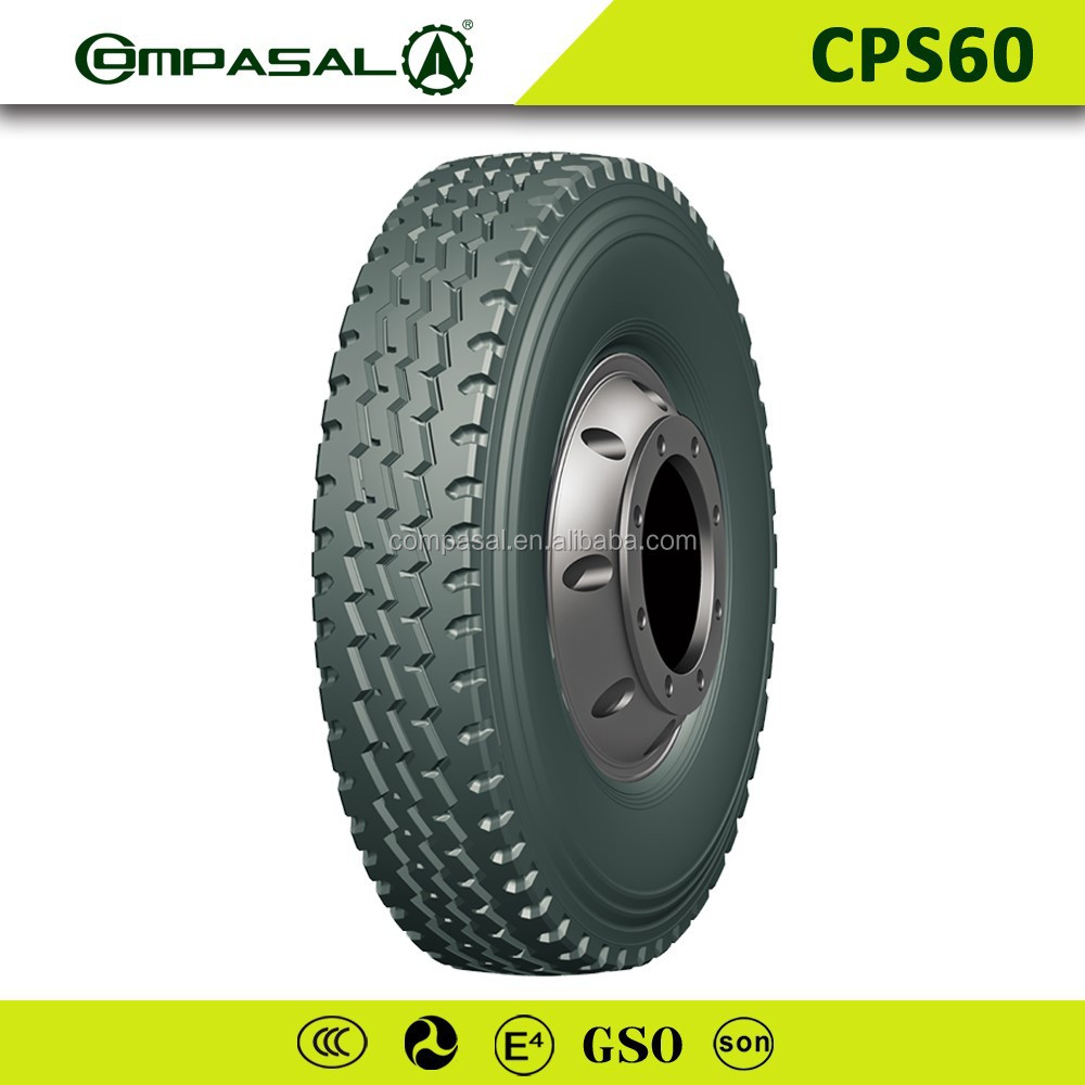 Chinese brand Compasal Heavi duty Truck tyre inner tube tire R20 top truck tire with AEOLUS Quality