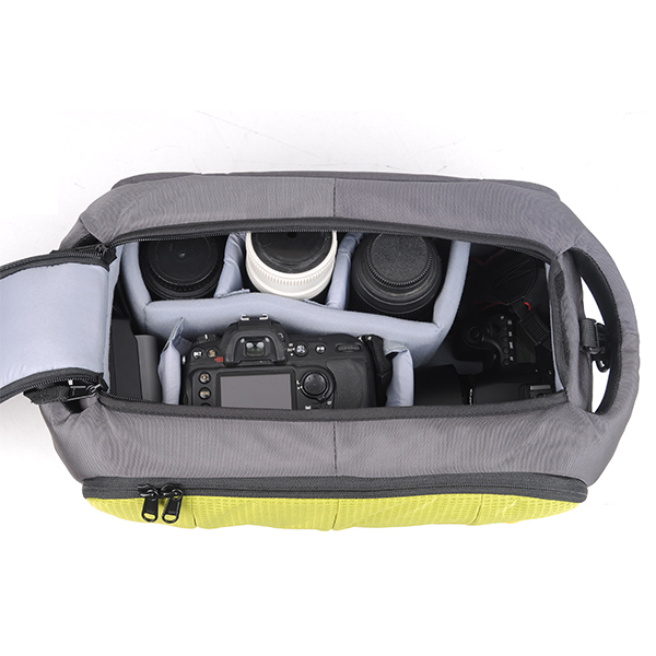 SY1260 High Quality Black Waterproof Nylon Camera Shoulder Bag