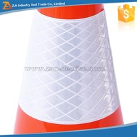 Welcome OEM Order Custom Size Removable Reflective Traffic Cone Cover/Sleeve/Collar