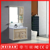 Hot design soft closer 3D effect waterproof bathroom mirror cabinet
