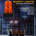Emergency Lamp Amber Strobe Patterns Multi-volt 10-110v for Fitting Single Pack Clear Housing Clear Lens & Amber LED - LED Auto