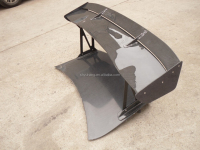 CF Skyline R35 GTR VOLTEX TYPE-5 STYLE REAR TRUNK BOOT SPOILER GT WING CARBON FIBER BLADE 1700MM WITH ALUMINUM