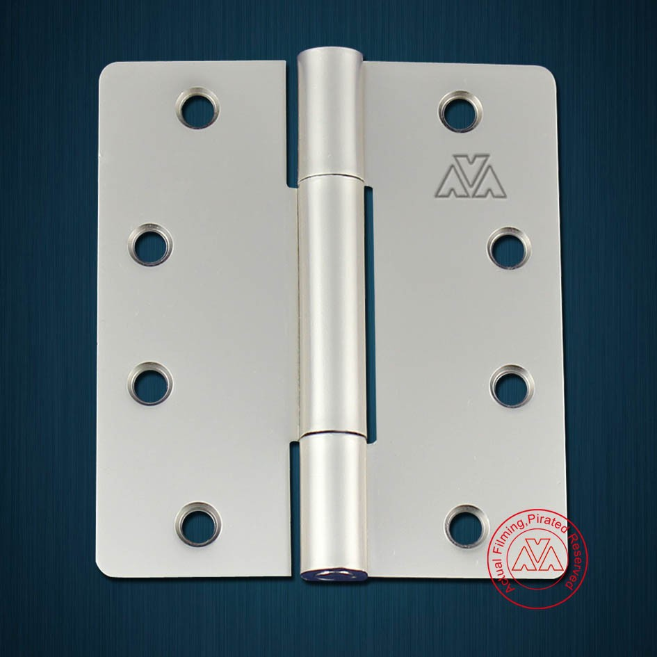 43527 Three knuckle no flat tip special steel butt hinge for iron door