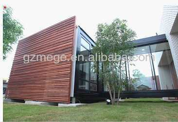 luxury decorated prefab containers hotel building