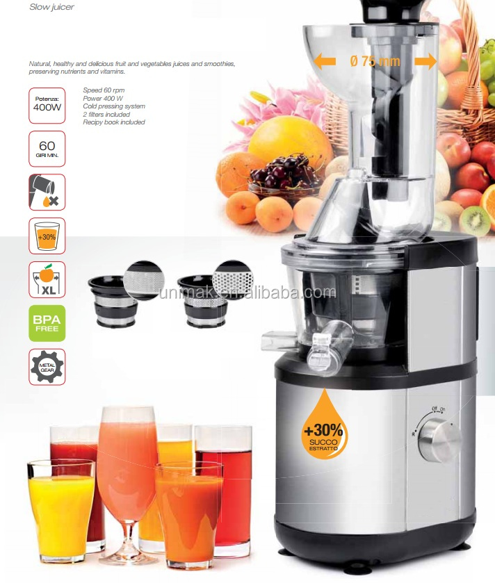 60 RPM SLOW JUICER