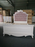 Wooden princess bed children princess beds royal princess bed