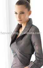 WJ02 wedding dress jackets with collar