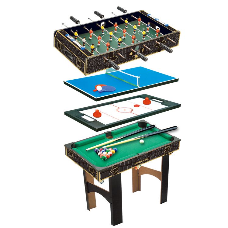 Creative Plastic Miniature Model Air Hockey Combination Table