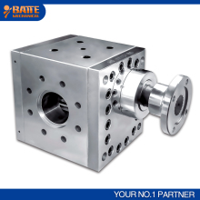 Stainless steel polymer hot melt pump extruder