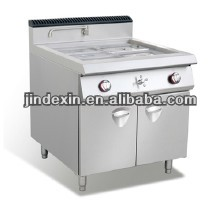 hot selling commercial Gas bain marie with cabinet