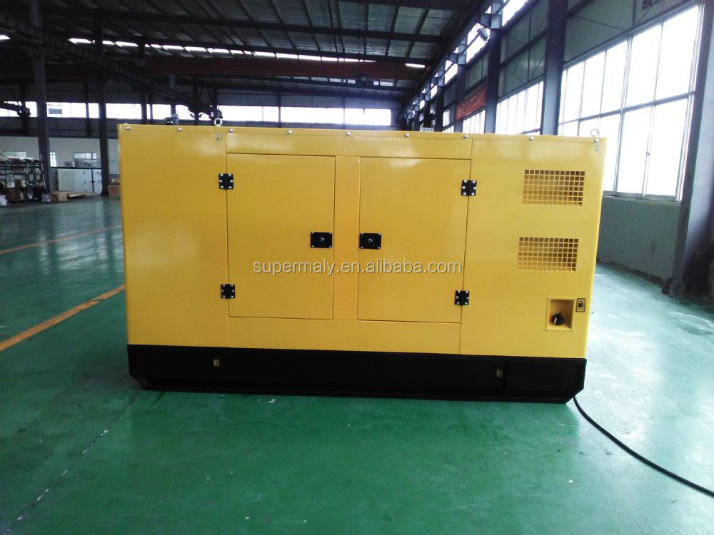 50kva cummins (engine)silent diesel generator set for sale