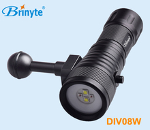 120 degree wide angle professional Diving Video Light torch