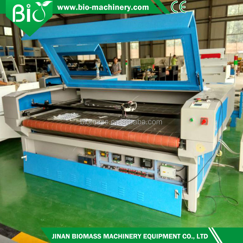 1810,1610 fabric laser cutting machine/big laser cutting and engraving machine/best cnc laser cutting for cloth ,leather