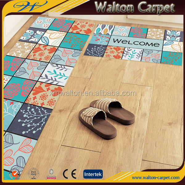 Wholesale High Quality Anti Slip Clear Plastic Kitchen Floor Mats