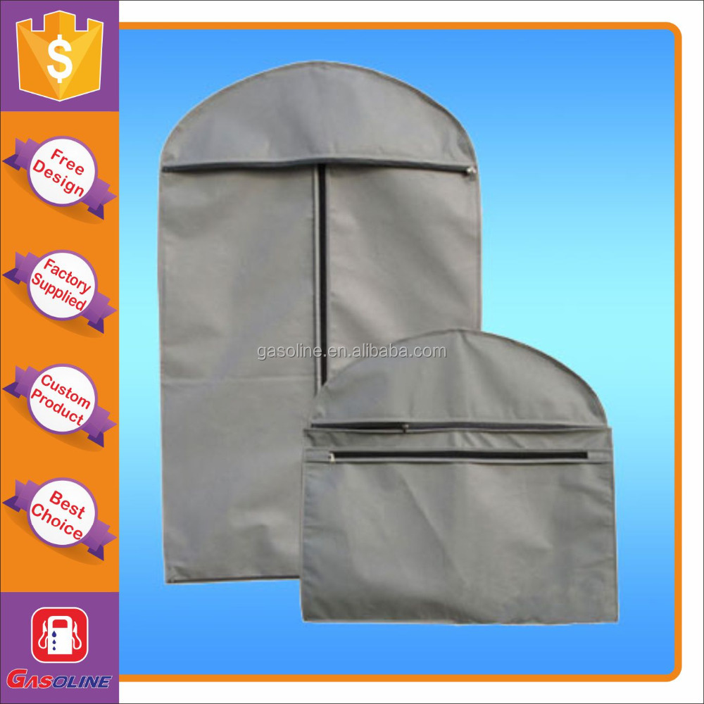 Super quality elegant travel garment bag for dresses