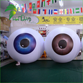 Giant Event Decoration Inflatable Eyes Ball / PVC Helium Floating Decor Human Eye Ball Model