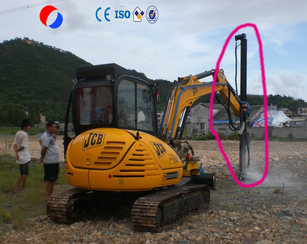 Fast speed excavator rock drill attachments 30-50mm diameter