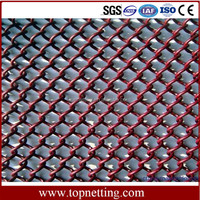 Volleyball Court Fence,Decorative Metal Mesh Coil Drapery